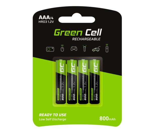 Green Cell 4x AAA HR03 800mAh - 573957 - zdjęcie