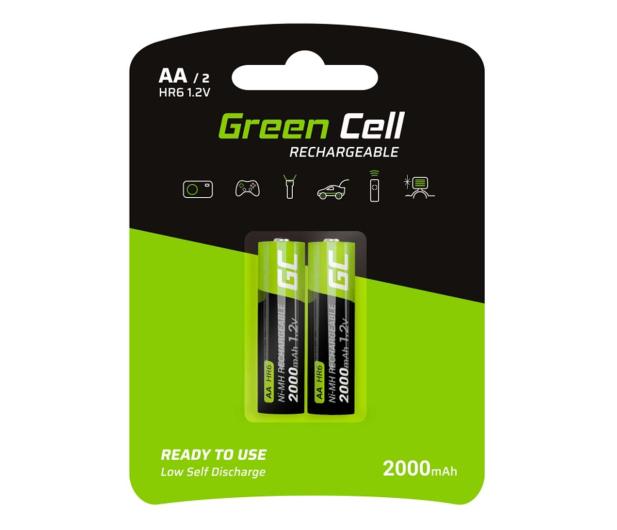Green Cell 2x AA HR6 2000mAh - 573959 - zdjęcie
