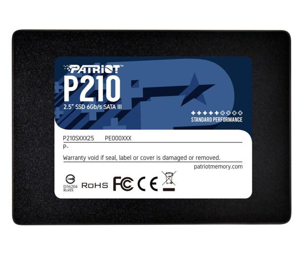 """Patriot 512GB 2,5"""" SATA SSD P210 - 575327 - zdjęcie"""