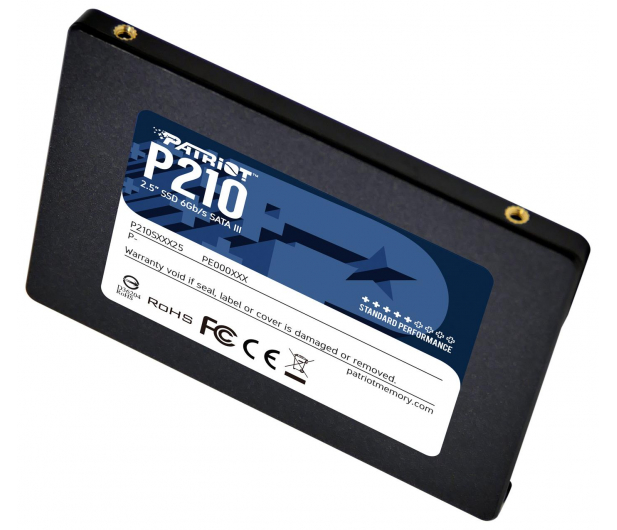 """Patriot 512GB 2,5"""" SATA SSD P210 - 575327 - zdjęcie 3"""