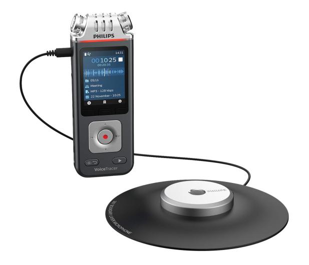 Philips Dyktafon Philips DVT8110 - 575430 - zdjęcie