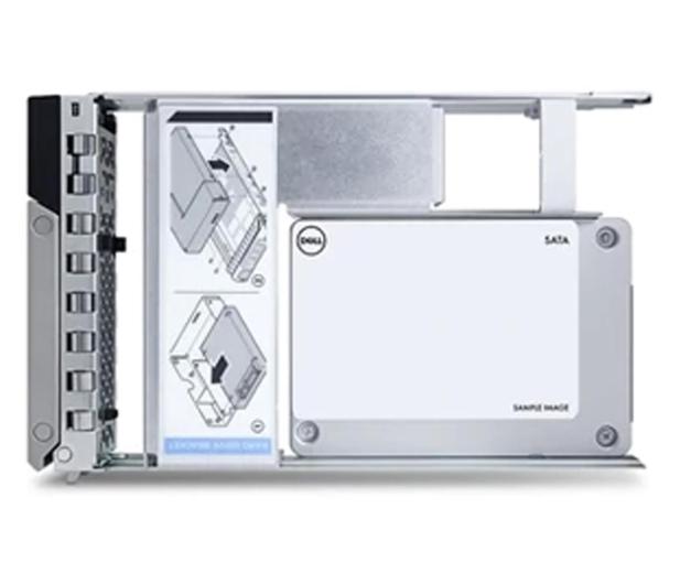 Dell 480GB SSD 512e 2.5 in 3.5 Read Intensive Hot-Plug - 607984 - zdjęcie