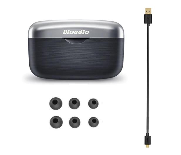 Bluedio Fi Czarny - 570907 - zdjęcie 2