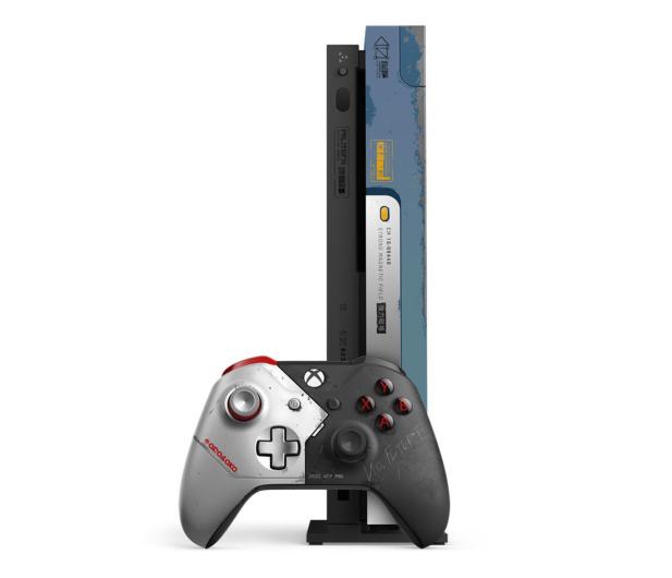 Microsoft Xbox One X 1TB - Cyberpunk 2077 Limited Edition  - 571407 - zdjęcie 4