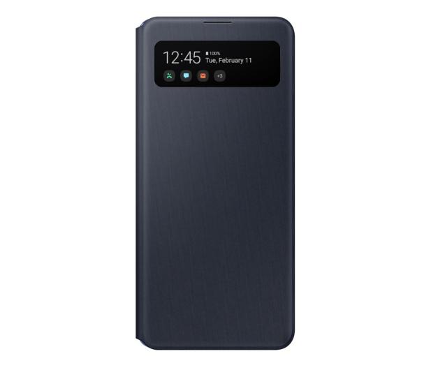 Samsung S View Wallet Cover do Galaxy A41 czarny - 569743 - zdjęcie