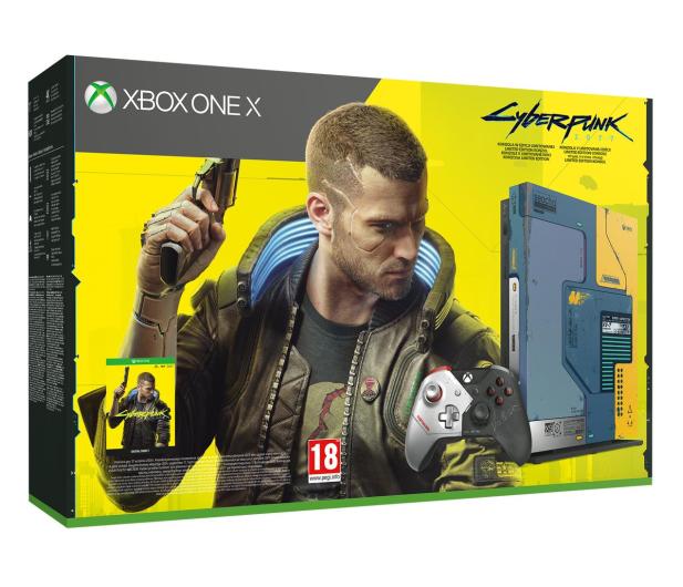 Microsoft Xbox One X 1TB - Cyberpunk 2077 Limited Edition  - 571407 - zdjęcie