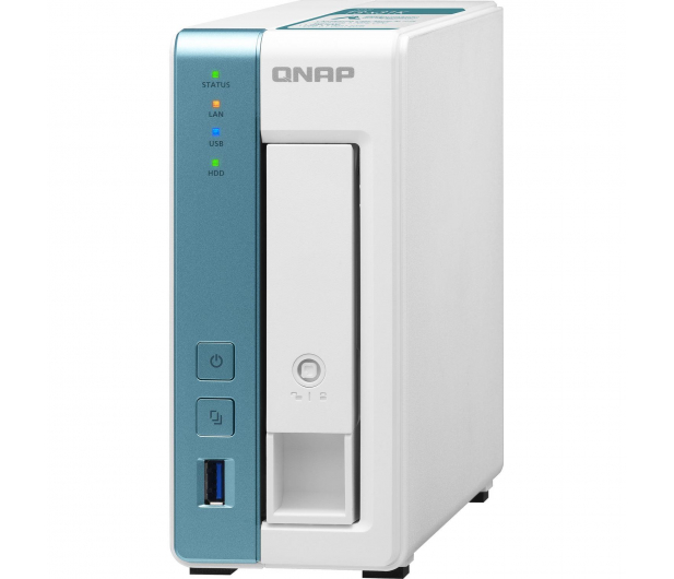 QNAP TS-131K (1xHDD, 4x1.7GHz, 1GB, 3xUSB, 1xLAN) - 570838 - zdjęcie 4
