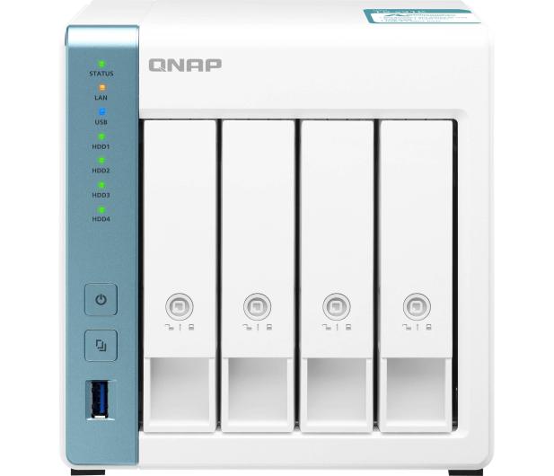 QNAP TS-431K (4xHDD, 4x1.7GHz, 1GB, 3xUSB, 2xLAN) - 570839 - zdjęcie 2
