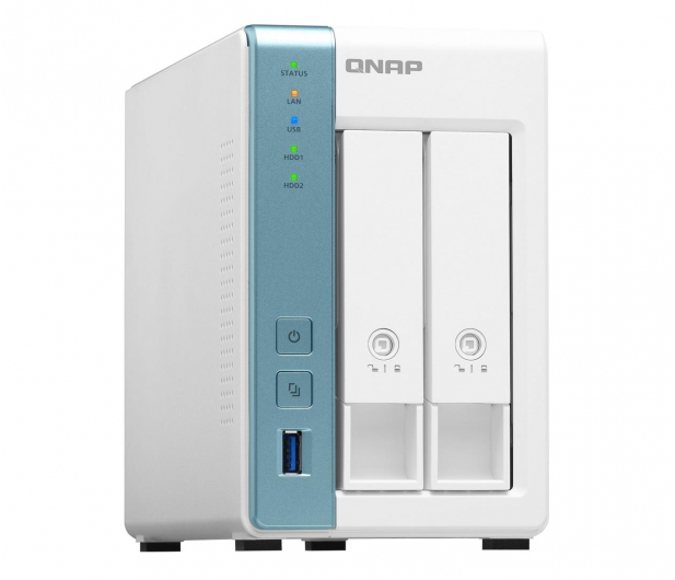 QNAP TS-231K (2xHDD, 4x1.7GHz, 1GB, 3xUSB, 2xLAN) - 570886 - zdjęcie