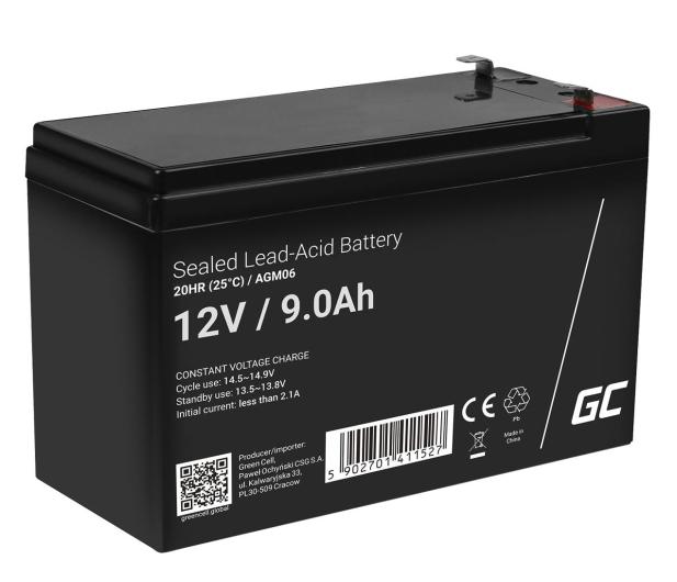 Green Cell Akumulator AGM  12V 9Ah - 547918 - zdjęcie