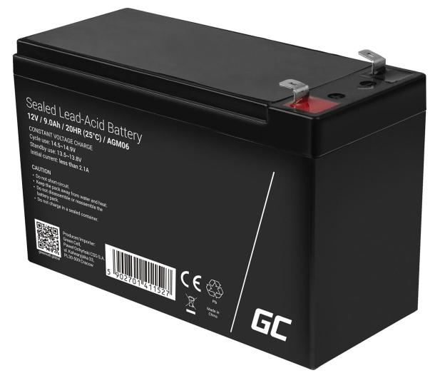 Green Cell Akumulator AGM  12V 9Ah - 547918 - zdjęcie 3