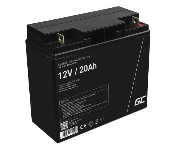 Green Cell Akumulator AGM  12V 20Ah - 547923 - zdjęcie