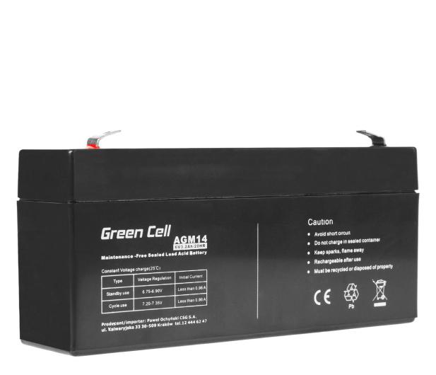 Green Cell Akumulator AGM VRLA  6V 3.3Ah - 547927 - zdjęcie
