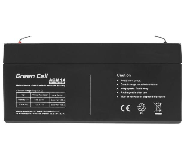 Green Cell Akumulator AGM VRLA  6V 3.3Ah - 547927 - zdjęcie 4