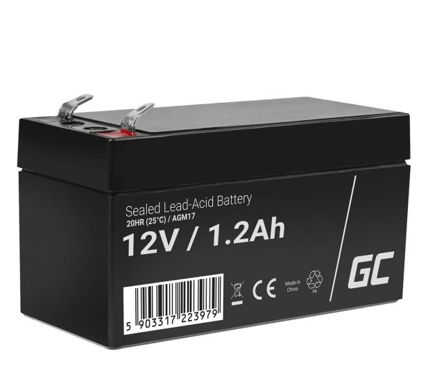 Green Cell Akumulator AGM VRLA  12V 1.2Ah - 547932 - zdjęcie