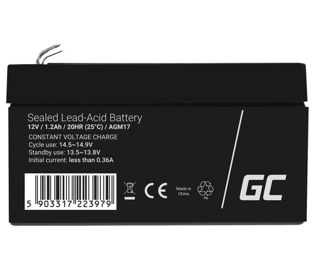 Green Cell Akumulator AGM VRLA  12V 1.2Ah - 547932 - zdjęcie 3