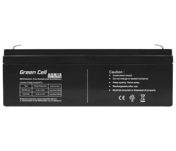 Green Cell Akumulator AGM VRLA  12V 2.3Ah - 547933 - zdjęcie 2