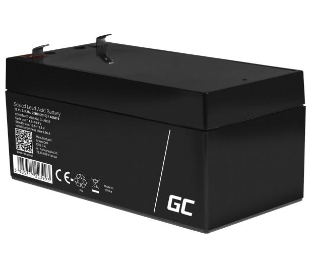 Green Cell Akumulator AGM VRLA  12V 3.3Ah - 547934 - zdjęcie 3