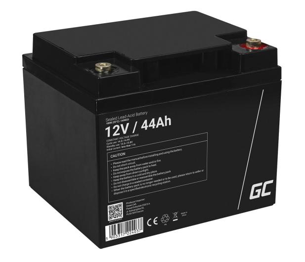 Green Cell Akumulator AGM VRLA  12V 44Ah - 547938 - zdjęcie