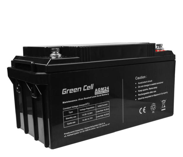 Green Cell Akumulator AGM VRLA  12V 65Ah - 547939 - zdjęcie