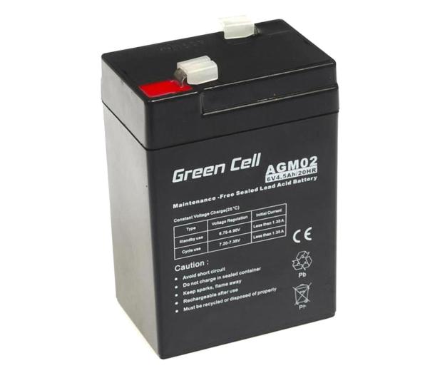 Green Cell Akumulator AGM  6V 4.5Ah - 547913 - zdjęcie