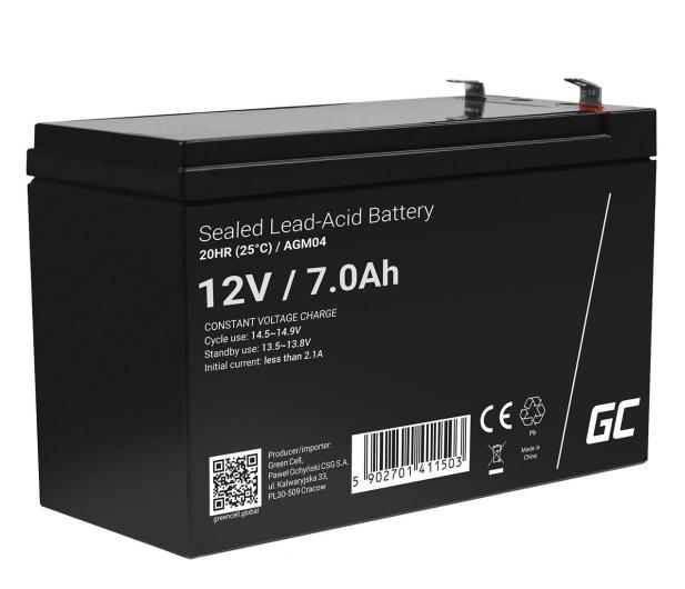 Green Cell Akumulator AGM  12V 7Ah - 547916 - zdjęcie
