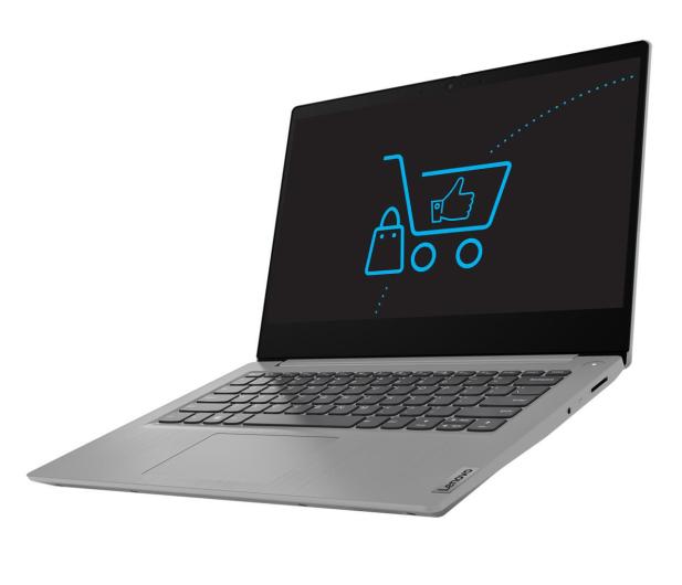 Lenovo IdeaPad 3-14 Athlon 3050U/8GB/256  - 579926 - zdjęcie