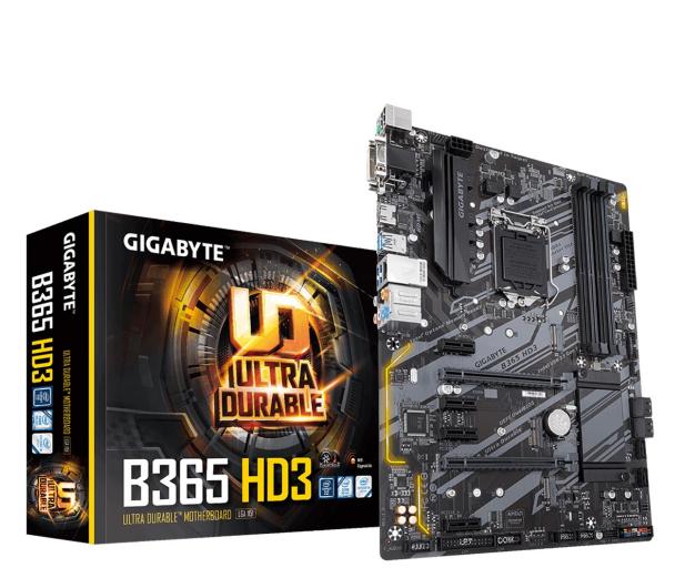 Gigabyte B365 HD3  - 579301 - zdjęcie