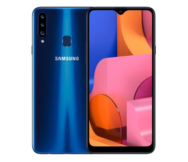 Samsung Galaxy A20s blue - 579641 - zdjęcie