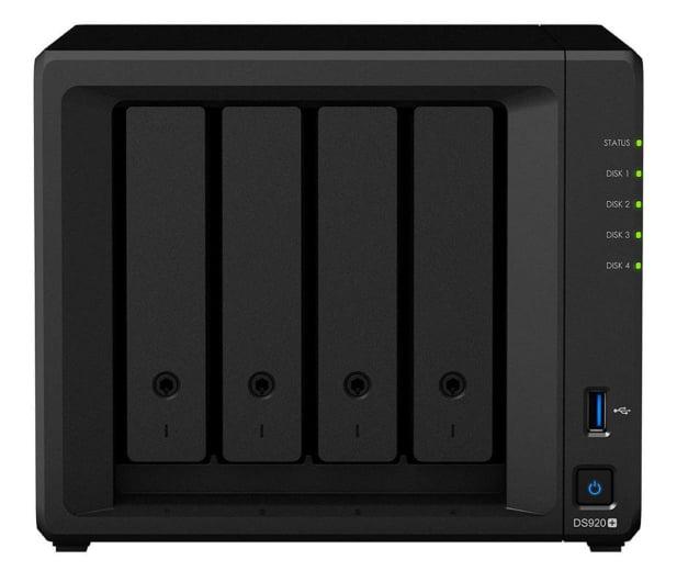 Synology DS920+ (4xHDD, 2xM.2, 4x2-2,7GHz, 4GB, 2xLAN) - 579691 - zdjęcie