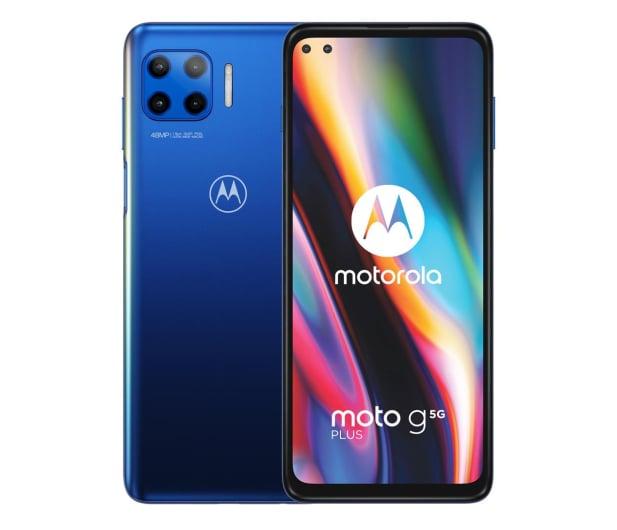 Motorola Moto G 5G Plus 6/128GB Surfing Blue 90Hz - 578593 - zdjęcie