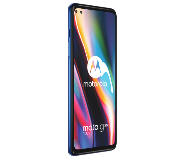 Motorola Moto G 5G Plus 6/128GB Surfing Blue + 128GB - 586275 - zdjęcie 5