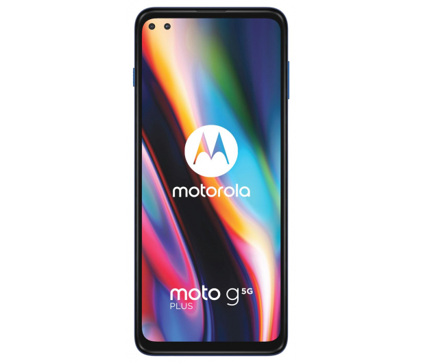Motorola Moto G 5G Plus 6/128GB Surfing Blue + 128GB - 586275 - zdjęcie 3