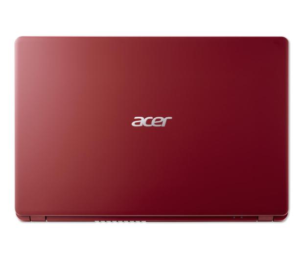 Acer Aspire 3 i3-1005G1/4GB/256 FHD Czerwony - 578280 - zdjęcie 6
