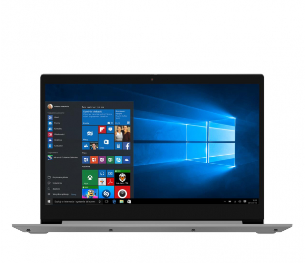 Lenovo IdeaPad 3-17 Athlon 3050U/4GB/256/Win10X - 579944 - zdjęcie