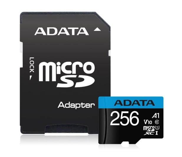 ADATA 256GB microSDHC Premier 100MB/s A1 V10 C10 UHS-I - 579900 - zdjęcie 2