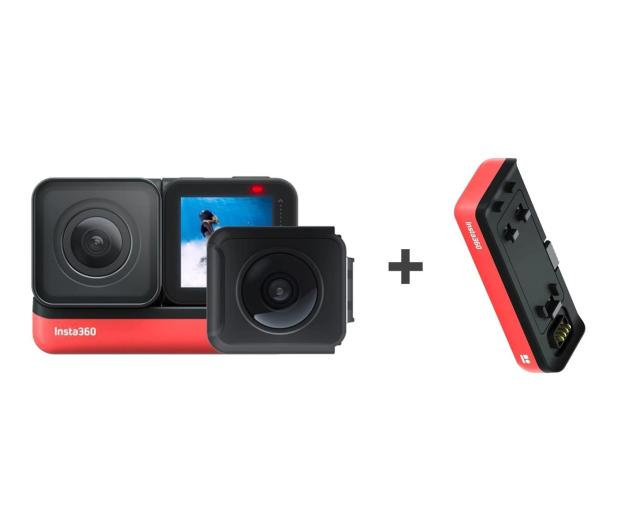 Insta360 One R - Twin Edition + akumulator  - 579966 - zdjęcie