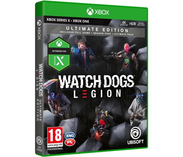 Xbox Watch Dogs Legion Ultimate Edition - 507970 - zdjęcie 2