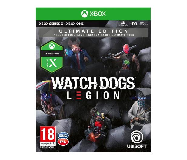 Xbox Watch Dogs Legion Ultimate Edition - 507970 - zdjęcie