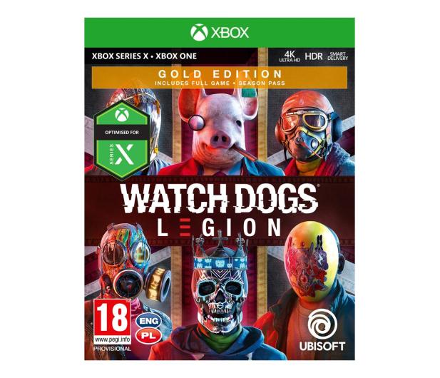 Xbox Watch Dogs Legion Gold - 567256 - zdjęcie
