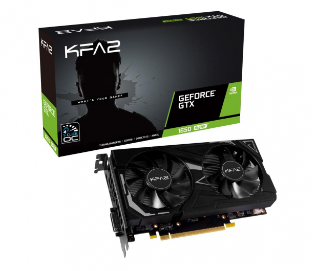 KFA2 GeForce GTX 1650 SUPER EX 1-Click OC 4GB GDDR6 - 581026 - zdjęcie