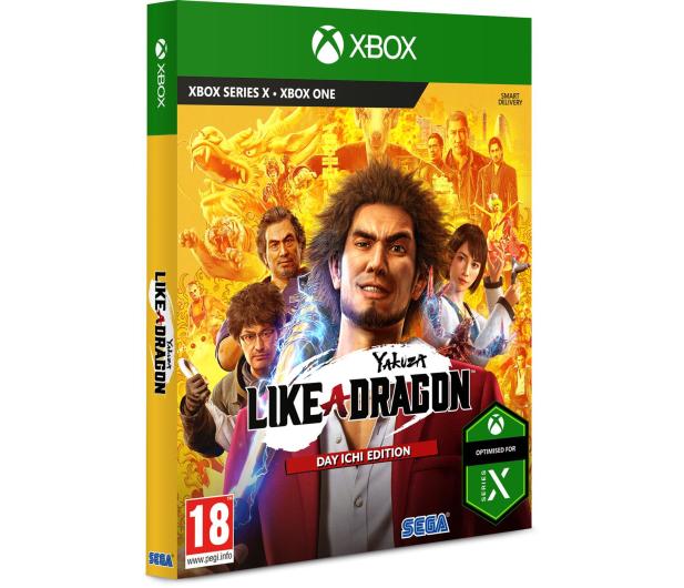 Xbox Yakuza: Like a Dragon (Day Ichi Steelbook Edition) - 568114 - zdjęcie 2