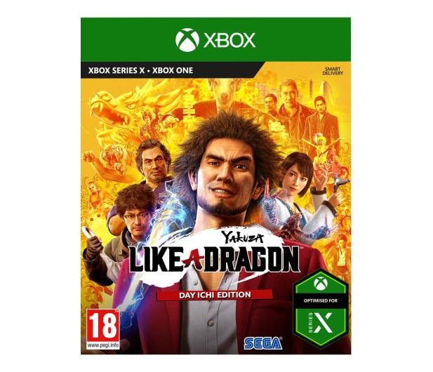 Xbox Yakuza: Like a Dragon (Day Ichi Steelbook Edition) - 568114 - zdjęcie