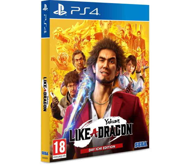 PlayStation Yakuza: Like a Dragon (Day Ichi Steelbook Edition) - 568110 - zdjęcie 2