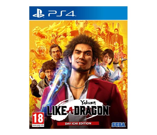PlayStation Yakuza: Like a Dragon (Day Ichi Steelbook Edition) - 568110 - zdjęcie