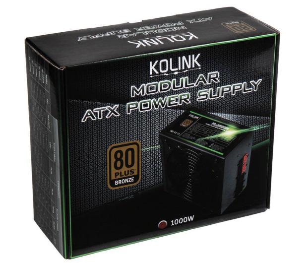 Kolink KL-1000M 1000W 80 Plus Bronze - 581648 - zdjęcie 7