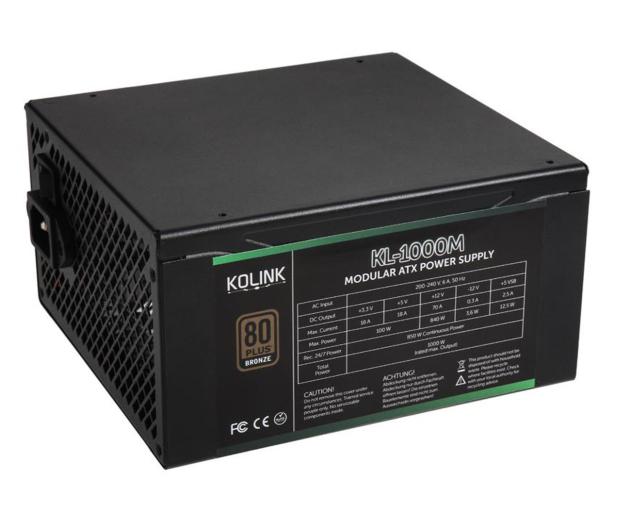 Kolink KL-1000M 1000W 80 Plus Bronze - 581648 - zdjęcie