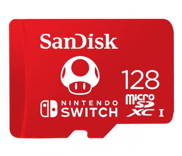 SanDisk 128GB microSDXC 100MB/s A1 V30 Nintendo Switch - 581871 - zdjęcie