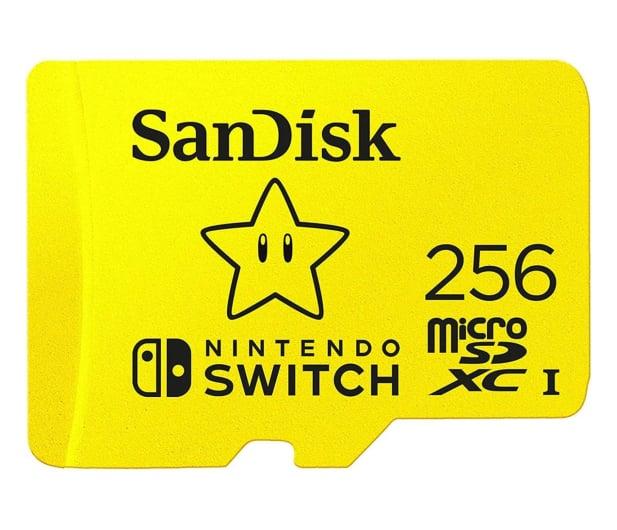SanDisk 256GB microSDXC 100MB/s A1 V30 Nintendo Switch - 581874 - zdjęcie