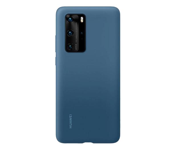 Huawei Plecki silikonowe do Huawei P40 Pro jasno nieb. - 582167 - zdjęcie